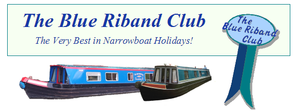 Blue Riband Club - The Very Best in Narrowboat Holidays!